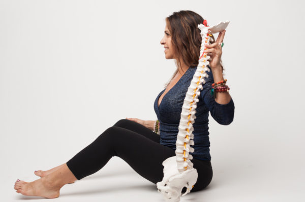 Maria with Aligned Spine