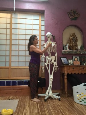 Maria with Skeleton Tucson
