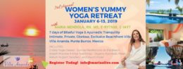 Women's Yummy Yoga Retreat Banner