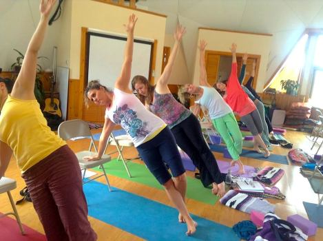 "Therapeutic yoga classes provide ""tools for sustained joy."""